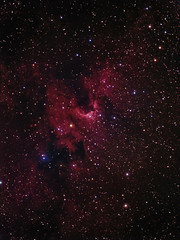 SH2-155 Caldwell 9 The Cave Nebula (Chuck Manges) Tags: nebula sh2155 caldwell9 at65edq qhy9m