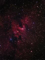 SH2-155 Caldwell 9 The Cave Nebula (Chuck Manges) Tags: nebula sh2155 caldwell9 at65edq qhy9m