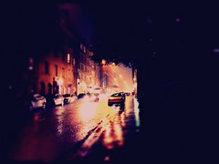 """""""You can always turn around and make another road"""" (Neya photography - every portrait is a journey) Tags: street color fall rain night helsinki october streetphotography story alleycat syksy valot lokakuu 2013 uploaded:by=flickrmobile flickriosapp:filter=nofilter"""