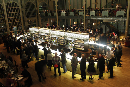 Paul Hamlyn Hall Champagne Bar to open late after performances