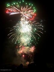 Fireworks (dash.null) Tags: blue red white green halloween night lumix fireworks smoke explosion panasonic g5 bang longleat