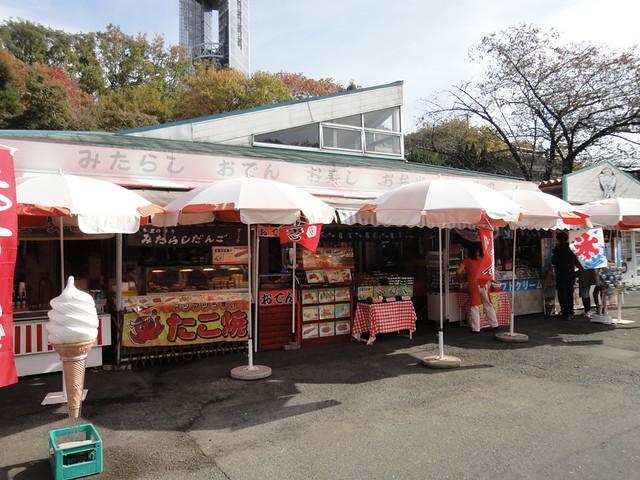 こちらは中央休憩所付近にある、昔ながらの食事&お土産屋さん。|名古屋市東山動植物園
