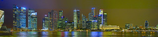Singapore Skyline by night, Canon 5D Mark III, Canon EF24-105mm F/4L IS USM,