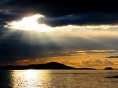Gola (rdspalm) Tags: ireland sunset cloudy atlantic gaeltacht donegal gola gweedore realireland irishlandscapes derrybeg wildatlanticway