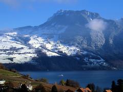 Winter Impression (Thomaniac) Tags: schnee winter schweiz frost berge alpen landschaft thunersee weissenstein