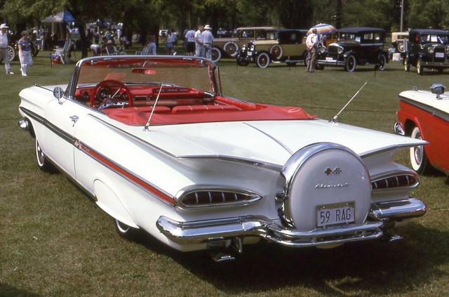 1959chevroletimpalaconvertible willisteadconcours1994 ©richardspiegelmancarphoto
