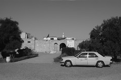 Scan-131230-0005-3.jpg (mathendrix) Tags: africa street analog blackwhite desert marrakech nikonf3 marroco roll4 homedeveloping 2013 nikoncoolscan5000ed agfaortho25