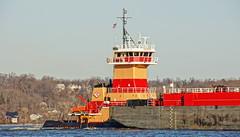 Tugboat Reinauer Twins (thetrick113) Tags: tugboat hudsonriver barge atb petroleum rtc hudsonvalley newburghnewyork petroleumbarge sonyslta65v reinauertwins reinauertransportationcompanies hudsonrivertugboat reinauerbarge bargertc104 tugboatreinauertwins reinauerbarge104