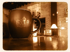 8/365 Coffee Break (Pixeleyes) Tags: coffee sepia break yum rochester 365 project365 365days bouldercoffee the365project 365the2014edition3652014day808012014
