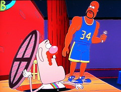 Shaquille O'Neal on Uncle Grandpa (Vinny Gragg) Tags: basketball cartoon shaq hoops lakers cartoonnetwork perfectkid losangeleslakers shaquilleoneal unclegrandpa