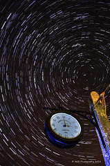 Time and stars (AGB Photography) Tags: longexposure sky lightpainting night stars star stack lp polar startrail nikond7000 agbphotography2014