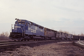 Four units and 3 builders at Logansport - 1976