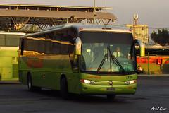 Tur Bus en Santiago   Marcopolo Andare Class - Mercedes Benz / YD1672 (Administracionytransportes.cl - Ariel Cruz Pizarro) Tags: chile bus verde holding turbus mnibus interurbano jedimar
