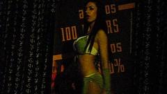 four (jbm7700) Tags: hot sexy girl lady disco big nice spain breast chica boobs body dancer babe nightclub chick galicia spanish yasmin gogo brunette coed busty morena