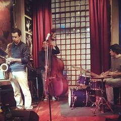 Blues Saint Valentin (JF Sebastian) Tags: musician bar drums pub lisboa livemusic squareformat saxophone doublebass nexus4 morethan100visits morethan250visits instagramapp filterrise uploaded:by=instagram foursquare:venue=4c608d8e13791b8d89e04faf
