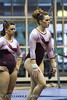 Amy Winczura & Maddie Kremer (Erin Costa) Tags: ladies college tx kitty arena gymnast gymnastics lions tumble denton twu magee centenary lindenwood