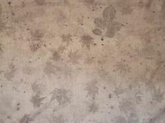jersey chanvre coton ecoprint