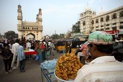 Charminar market (Scalino) Tags: india heritage monument hyderabad inde charminar