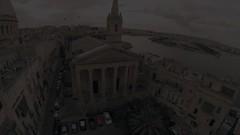 Humilissima Civitas Valletta (Justin__Case) Tags: city urban 3 church video go quad malta dome hero pro hd eglise anglican malte valletta 1080 gopro hero3 vallette quadcopter godrone godroneme