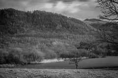 Derwent Water Infrared (Jason M Parrish) Tags: longexposure trees sky lake tree water forest boats dock woods cumbria infrared derwentwater keswick infared infraredphotography keswickfilmfestival