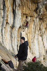 Czech Visitors (Vertical Planar) Tags: athens greece climbing limestone rockclimbing tufas  hymettos ymittos    vrahokipos vrachokipos  wwwathensclimbingcom