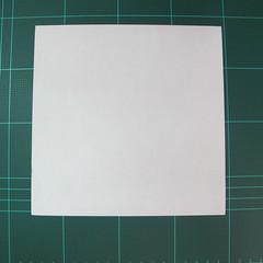 วิธีการพับกระดาษรูปม้าน้ำ (Origami Seahorse) 002