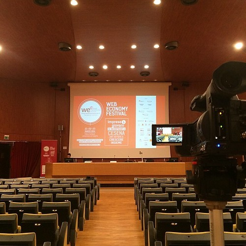 Web Economy Festival starting soon...