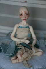 Makeup commission on March (heliantas) Tags: mouse doll handmade bjd sindy lidiya faceup snul bjtales