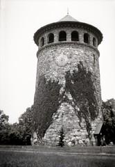 Rockford Tower, Wilmington, Delaware (rich701) Tags: 1920s blackandwhite bw fashion vintage 1930s newjersey clothing watertower nj sundial negative 1910s photoalbum stonetower rockfordpark