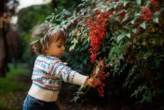 Intruseando la naturaleza (GMH) Tags: plaza parque planta retrato flor jardin nia beb otoo orton guagua efectoorton
