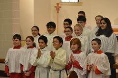 Mass for SFA Altar Servers (SFA Union City) Tags: religious event mass stfrancisacademy