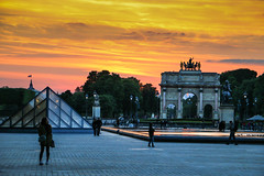 Arc de triomphe du Carrousel Paris (Zatar) Tags: paris canon de eos louvre arc triomphe du carrousel 70d