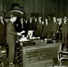 1961 Attorney General Robert Kennedy swears in the first Sky Marshals (FAA News) Tags: 1961 hijacking airmarshal aviationsecurity skymarshal faanews faahistory