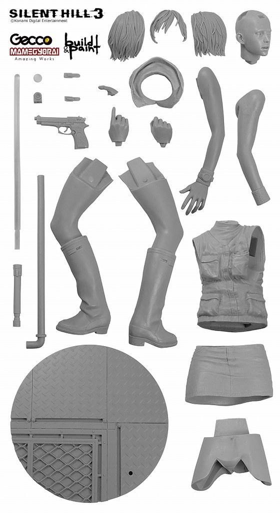 「豆魚雷限定」SILENT HILL 3 海瑟素模套件推出!