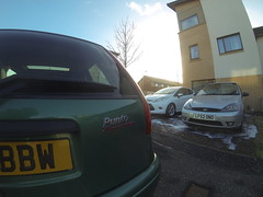 GOPR1435 (David Kedens) Tags: ford scotland punto focus fiat driveway fordfocus st170 focusst gopro puntosporting focusst170 mk1puntosporting mk1punto mk1focusst