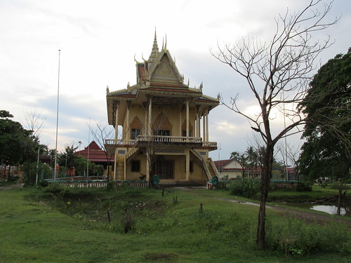 Temple, Kratie, Cambodge
