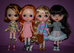 my plastic dolls