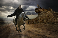 horsewoman (begemot_dn) Tags: fiction mystery illustration night dark crazy twilight time space ghost dream tranquility philosophy manipulation thoughts illusion fantasy cycle inside period paranoia acceptance psychology pastime openness sleepwalking schizophrenia astrakhan