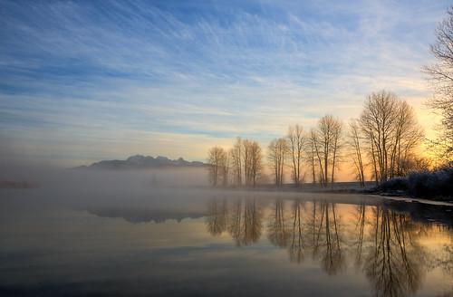 Misty Morning Mountain