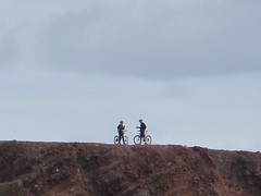 Hey you (Risager) Tags: cyclists grancan elburrero