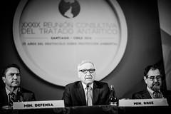"""Canciller Muñoz tras inauguración de Reunión Consultiva del Tratado Antártico """"Para Chile la Antártica es Futuro"""" (15)"""