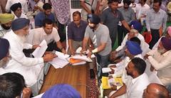 Sangat Darshan program at Nakodar - Parkash Singh Badal(2) (Shiromani Akali Dal) Tags: villages punjab parkashsinghbadal akalidal sangatdarshan akalisforpunjab