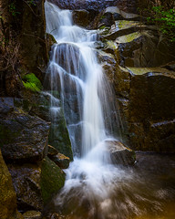 Wildcat Falls (el.merritt) Tags: hwy140 longexposure may ndfilter nationalpark water wildcatfalls yosemite emphoto41 waterfall wideangle