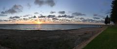 "Ceduna Panorama (Dean ""O305"" Jones) Tags: sunset panorama jetty south australia sa ceduna"