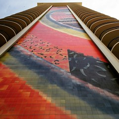 Rainbow Tower , Hilton Hawaiian Village , 2015 (Hizmiester2) Tags: old tower tile hawaii rainbow waikiki oahu famous mosiac rainbowtower waikikian