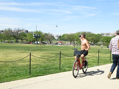 IMG_0411 (FOTOSinDC) Tags: shirtless man hot bike candid handsome biker shorts