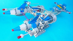 Neo-Classic Space - Podracer (Adeel Zubair) Tags: classic star lego space neo wars moc podracer