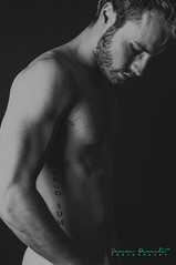 I know the sound of your heart (SammDewaele) Tags: boy shadow black male men guy eye closeup dark nose marcel eyes adult arm head muscle spirit dream young lips dreaming jeans dreams athlete youngadult closedeyes youngguy maleadult dreamingguy