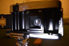 Film Housing and Shutter (Callum Colville's Lothian Buses) Tags: camera vintage box tripod certificate case vintagecamera manual yashica pointshoot cartridge 126film yashicaezmatic seleniumcell ezmatic vintagetripod
