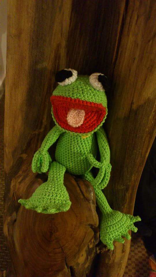 Amigurumi Frog Doll : The Worlds Best Photos of amigurumi and frog - Flickr ...